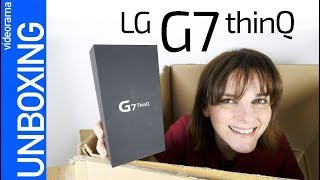 LG G7 unboxing - ¿multimedia ABSOLUTO?-