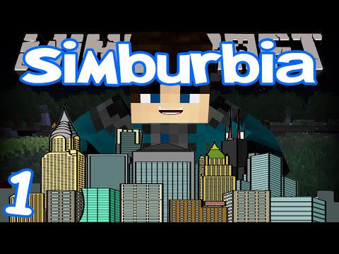 Minecraft - Simburbia | Ep 1 | Sim City In Minecraft!