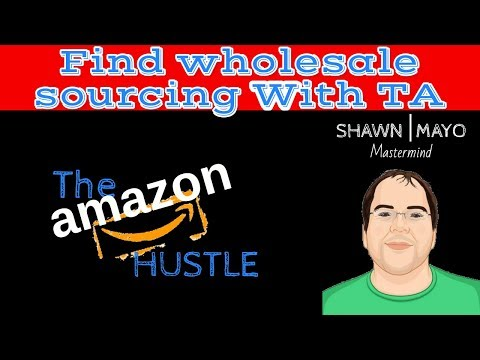 Finding wholesale sourcing for selling on Amazon FBA using Tactical Arbitrage with Shawn Mayo amazon