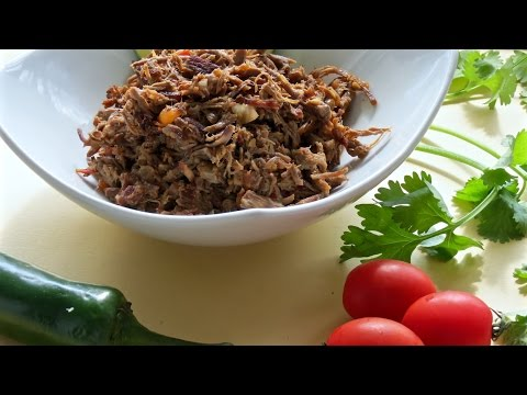 Mexican Shredded Beef -- The Frugal Chef