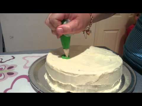 Easy DIY Cake Decor : By Design butterfly cake