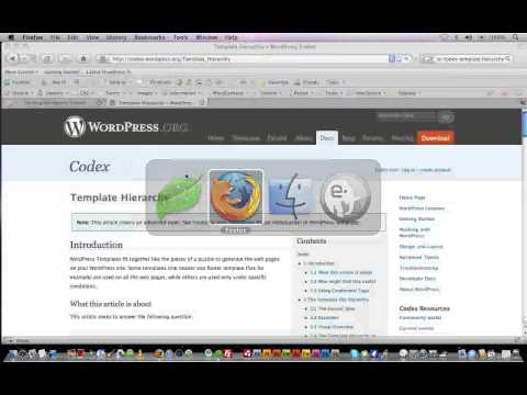 Wordpress Tutorial Trainer Part 6 - Creating Single Pages