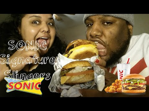 Sonic Drive-in Signature Slingers, Classic Signature Slinger & Bacon Melt Signature Slinger Review
