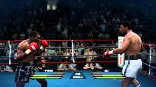 Download Fight Night Round 4 - Tyson vs Ali Video