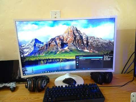 Samsung Curved Monitor Best Settings