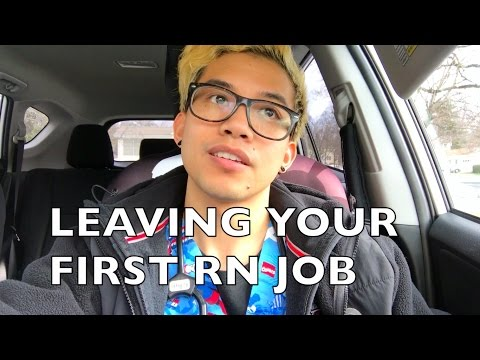 Leaving Your First RN Job