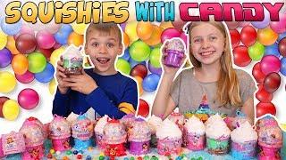 Smooshy Mushy Sugar Fix Candy Squishies - Gumballs Challenge!