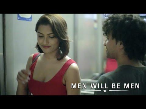 MEN WILL BE MEN    PICKUP GONE WRONG IN ELEVATOR