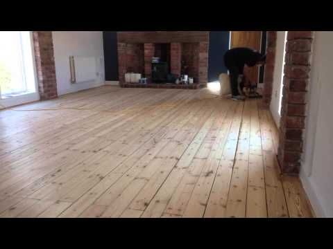 Pine Floor Sanding and Sealing by Floorcare Services