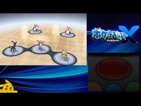 Pokémon X [JPN] - Restaurant Le Yeah