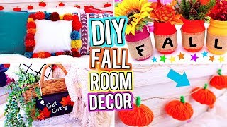 DIY ROOM DECOR! DIY Fall Room Decor! DIY Room Decorations!  Easy & Cute DIY