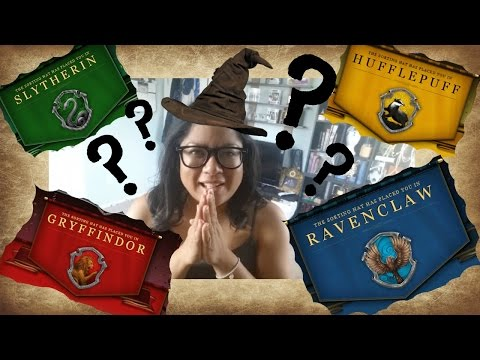 Getting Sorted into my Howarts House on Pottermore!!!