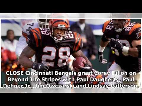 Cincinnati bengals great corey dillon on beyond the stripes  By Channel