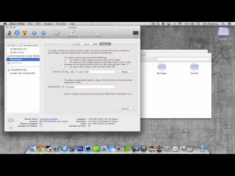 How to Make a Bootable Mac OS X Mountain Lion USB Drive