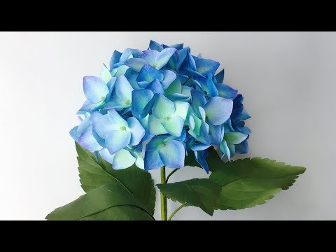 ABC TV | How To Make Hydrangea Paper Flower From Printer Paper - Craft Tutorial