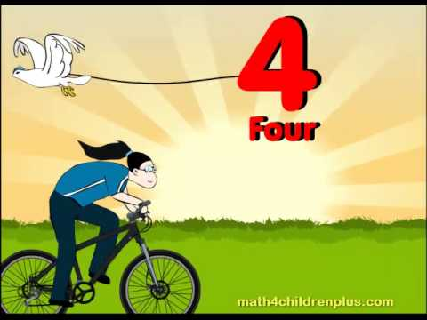 Counting Numbers 1 to 10 for Children - Pre K, Kindergarten and 1st Grade