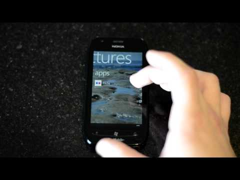 Nokia Lumia 710 Windows Phone 7 OS Overview