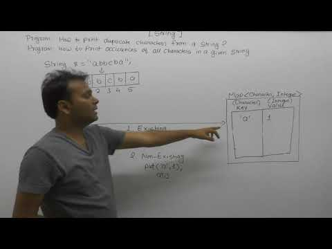 How To Print Duplicate Characters From String In Java  Part155  Core Java By Java Professional
