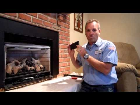 Robert Martin Gas Fireplace Cleaning Step 4