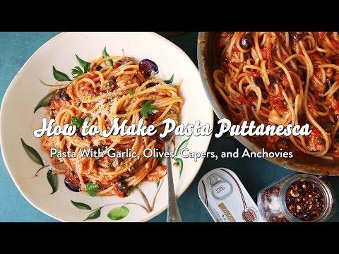How to Make Pasta Puttanesca
