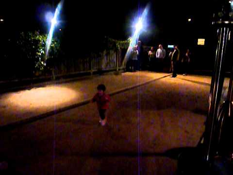 Lulu runs the bocce ball court