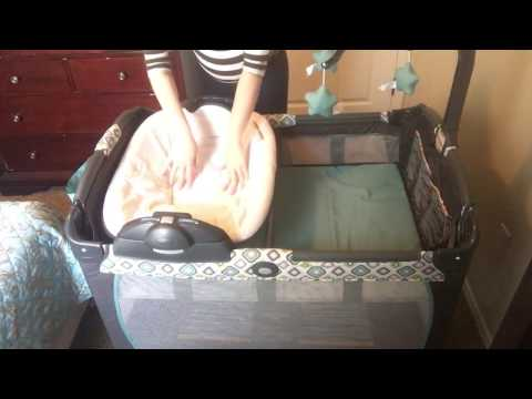 Graco Pack 'n Play: Real time Set up for Newborn