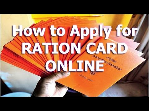 How to Apply for Ration Card Online?