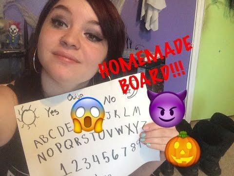 Ouija Talk: HOW TO MAKE A HOMEMADE OUIJA BOARD!!!!