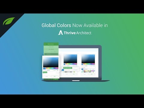 Discover a New Way of Customizing Your Pages with Global Colors