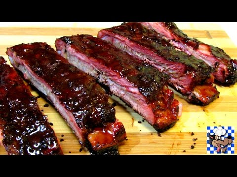 Chinese BBQ Ribs - Five Spice Spare Ribs with Hoisin Honey Glaze