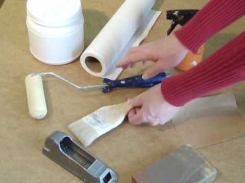 Save Money! Learn How to Gesso a Hardboard Panel for Painting