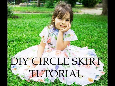 DIY Circle Skirt Tutorial