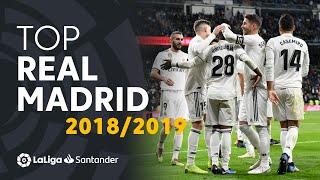 TOP Goles Real Madrid LaLiga Santander 2018/2019