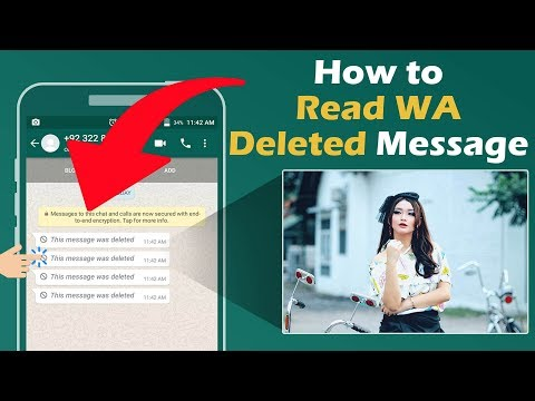 How to read WhatsApp deleted messages, pictures and videos?  | WhatsDelete for Whatsapp Data