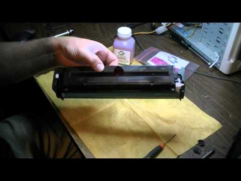Save Money! Refill the toner in your laser printer HP CM1415