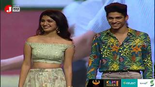 Priya Prakash Varrier & Roshan On Stage | Lovers Day Audio Launch | Allu Arjun | J Media Factory