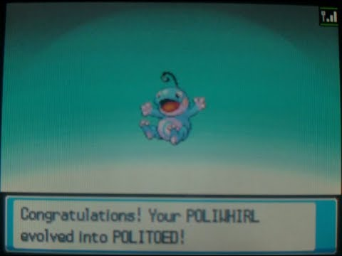 How to get Politoed - Pokemon Heart Gold and Soul Silver