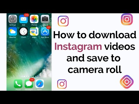 Download Instagram videos and send on WhatsApp iOS
