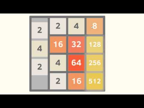 2048 Game Solution, Tips, Tricks and Strategy