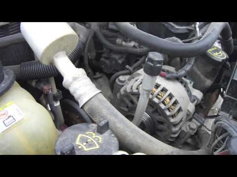 DIY Ford Windstar / Freestar Serpentine belt replacement