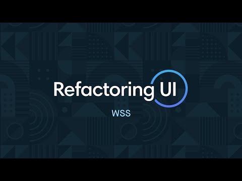 Refactoring UI: WSS