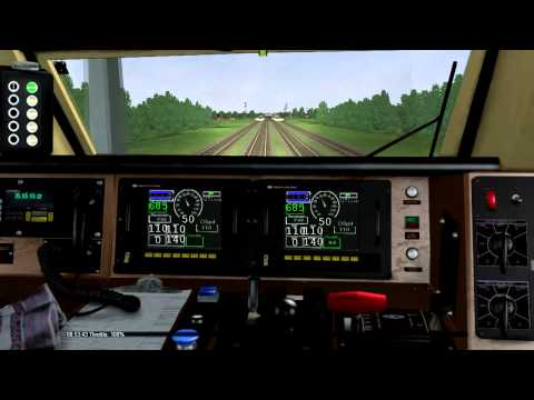 MSTS - Open Rails: Amtrak Maple Leaf Cab Ride Part 2 of 2 (Oakville - Aldershot)