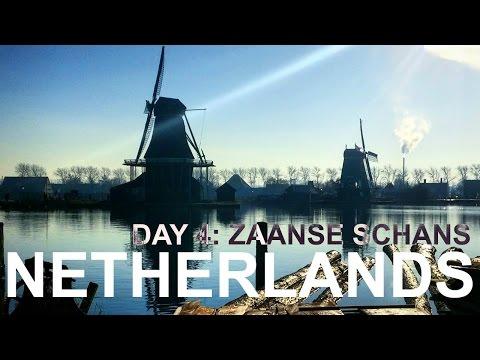 Travel Vlog || Netherlands 4: Zaanse Schans (WINDMILLS!) [21]