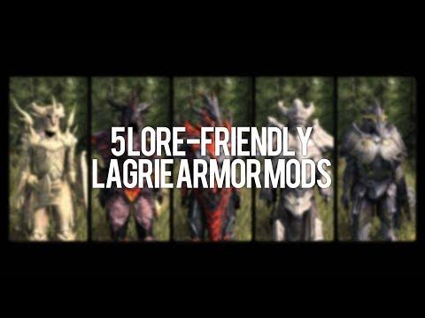 Skyrim Special Edition: ◼️5 Lore-Friendly Lagrie Armor Mods ◼️ | Killerkev