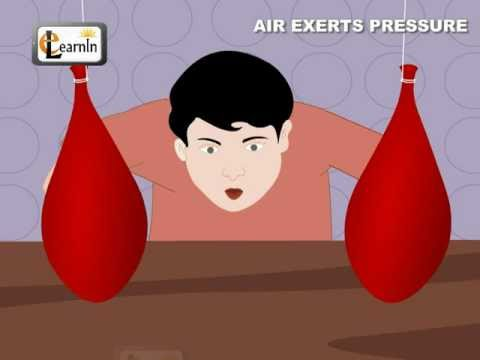 Air Exerts Pressure Activity Experiment - Science