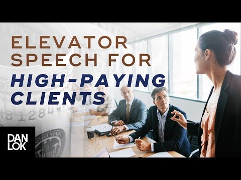 The Perfect Elevator Pitch To Get High Paying Clients - Premium Package Secrets Ep. 7