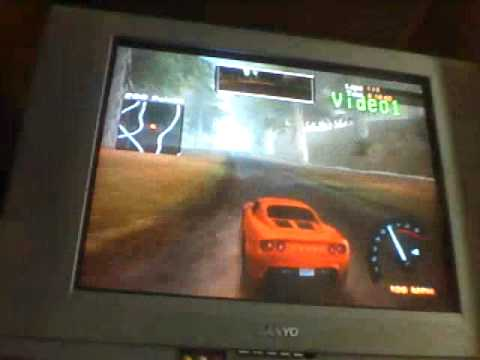 NFS: hp2 - first mission - manual transmission