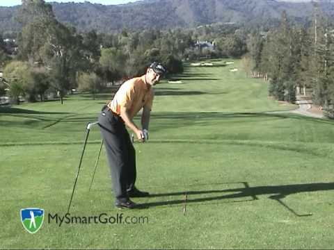 Golf instruction - Maintaining good posture