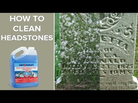 Wet And Forget Outdoor Headstone Cleaner