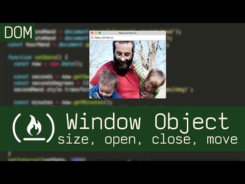 Window Object: move, open, close, & size - Beau teaches JavaScript